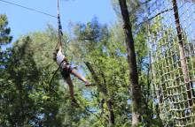 Bollène Aventure - Treetop adventure park