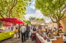 Farmers' Market of Saint Martin de La Brasque