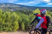 Mountainbikeroute Bedoin - Les Baux - n°1