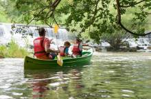 Canoe the river Sorgue with Kayak Vert
