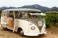 Balade en Combi Volkswagen et dégustation au Domaine de la Tourade