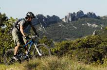 Mountainbikeroute door de Dentelles de (...)