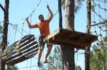 Treetop adventure park 'Ventoux Aventure'