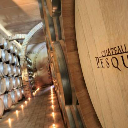Introduction to tasting at Château Pesquié