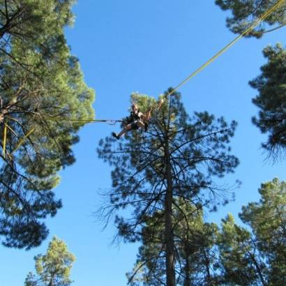 Treetop adventure park 'Colorado Aventures'
