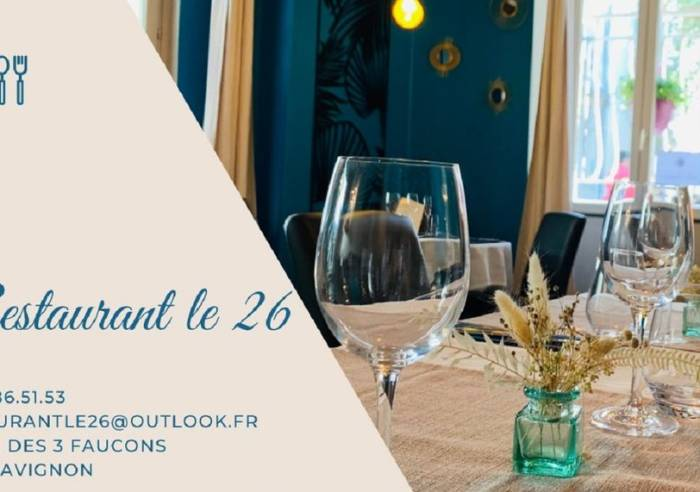 restaurant le 26 restaurant avignon restaurant vaucluse en provence. Black Bedroom Furniture Sets. Home Design Ideas